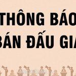 Thông báo đấu giá quyền sử dụng đất và tài sản gắn liền với đất tại 21 kiệt 11 Nguyễn Khuyến, phường Phú Nhuận, thành phố Huế