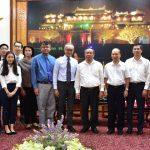 Chủ tịch UBND tỉnh tiếp và làm việc với Tập đoàn Banpu – Thái Lan