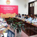 Đoàn công tác của Ngân hàng Phát triển Châu Á làm việc tại tỉnh Thừa Thiên Huế