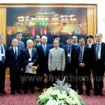 Phó Chủ tịch Thường trực UBND tỉnh Phan Ngọc Thọ tiếp Đoàn Hội đồng thúc đẩy ngoại giao Nhân dân Nhật Bản