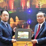 Đoàn Chính quyền Thành phố Izumiotsu – Nhật Bản thăm và làm việc với lãnh đạo tỉnh Thừa Thiên Huế