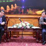 Chiều ngày 20/12, Phó chủ tịch UBND tỉnh Nguyễn Văn Phương đã tiếp và làm việc với ông Yannis Vasilopoulos, Giám đốc phát triển Công ty Gildemeister Energy solutions GmbH đối tác của Công ty TNHH xây dựng Thái Đạt về dự án Nhà máy điện mặt trời tại Thừa Thiên Huế.