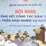 Thủ tướng dự và chỉ đạo Hội nghị tổng kết Bộ Kế hoạch và Đầu tư