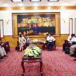 Đoàn công tác của chương trình phát triển Liên hợp quốc tại Việt Nam làm việc với tỉnh Thừa Thiên Huế