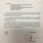 Thông báo ngưng đấu giá quyền sử dụng đất tại thị trấn Thuận An, xã Vinh Hà, huyện Phú Vang