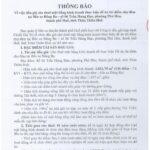 Thông báo cho thuê mặt bằng kinh doanh thực hiện đề án thí điểm chợ đêm tại bến xe Đông Ba-06 Trần Hưng Đạo