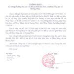 Thông báo dừng tổ chức đấu giá 4 lô đất tại thôn Kim Sơn, xã Thủy Bằng, thị xã  Hương Thủy