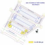 Thông báo đấu giá QSDĐ 04 lô đất Khu tái định cư Thủy Dương giai đoạn 3 (đợt 1), phường Thủy Dương